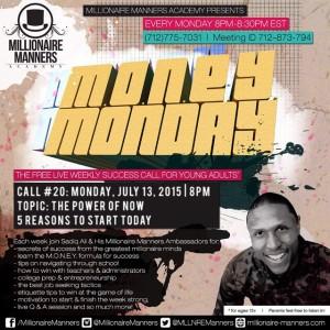 Mentor Monday Call #20