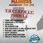 Millionaire Manners Poster